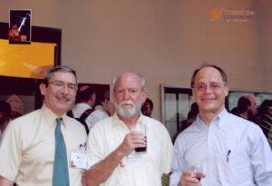 Jim Ryan, Trevor Weekes, and Charles Dermer at 30th ICRC, Merida, Mexico 2007