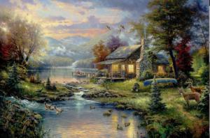 Thomas Kinkade, Master of American Kitsch Art
